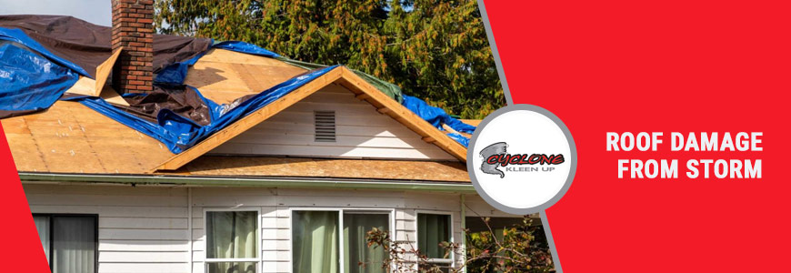 Storm Damaged Roof Restoration in Colorado