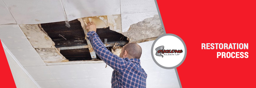 Water Damage Restoration Process