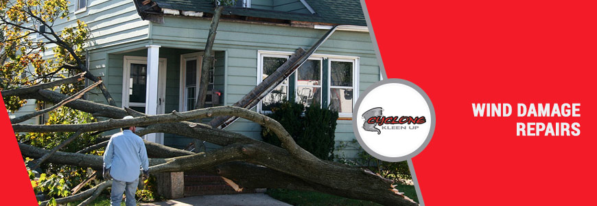 Wind Damage Repairs in Colorado