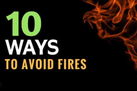 Top 10 Ways to Avoid Fires in Colorado Springs, CO | Cyclone Kleen Up