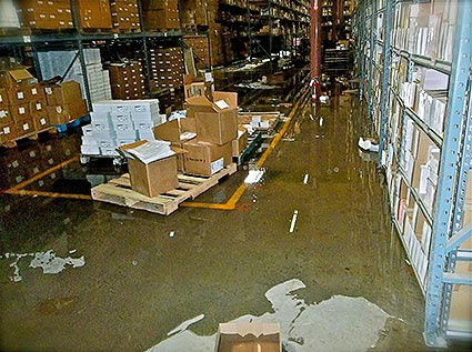 Different Reasons for Commercial Water Damage