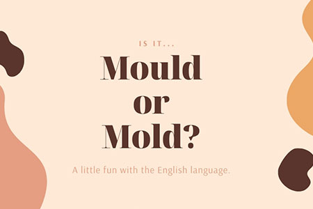 Are Mold and Mould the Same Thing?
