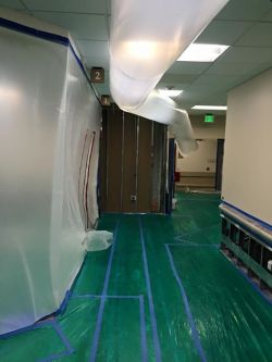 Cyclone Kleen Up helps water damaged hospital in Leadville, CO.
