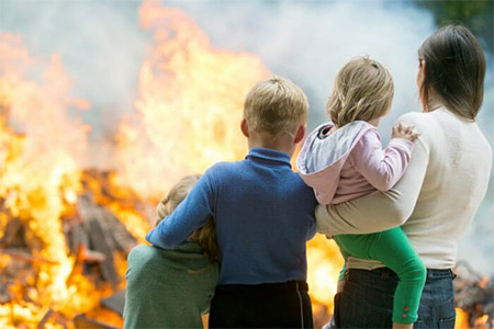 What to Do If Caught in a House Fire